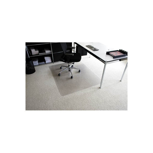 rs office bodenschutzmatte 120 x 180cm f r teppich transparent. Black Bedroom Furniture Sets. Home Design Ideas