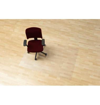 Bodenschutzmatte Rollt&Schützt 120 x 150 cm Form O für Hartböden transparent Makrolon