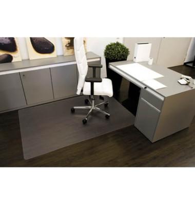 Bodenschutzmatte Rollt&Schützt 120 x 180 cm Form O für Hartböden transparent Makrolon