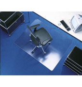 Bodenschutzmatte 120 x 150cm für Teppich transparent