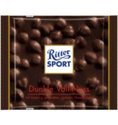 Schokotafel, Dunkle Voll-Nuss, Folie, 10 x 100 g (1000 g)