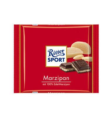 Schokotafel, Marzipan, Folie, 12 x 100 g (1200 g)