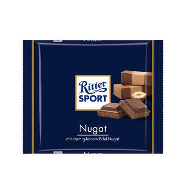 Schokotafel, Nugat, Folie, 13 x 100 g (1300 g)