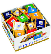 Mini sortiert Schokolade 84x 16,6g