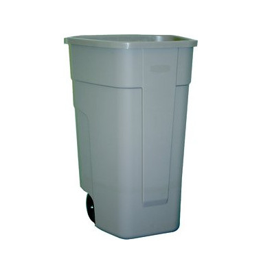 Mobile Mülltonne 100 Liter beige