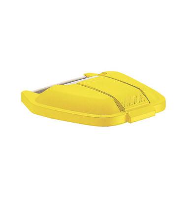 Deckel gelb für Mobile Mülltonne