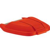 Deckel rot für Mobile Mülltonne