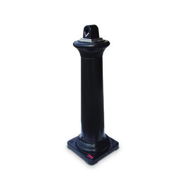 Standaschenbecher Groundskeeper Tuscan schwarz 355x355x1067mm