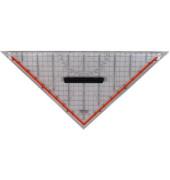 TZ-Dreieck 32,5cm transparent