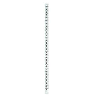 Edelstahl-Lineal 323703 silber 30cm