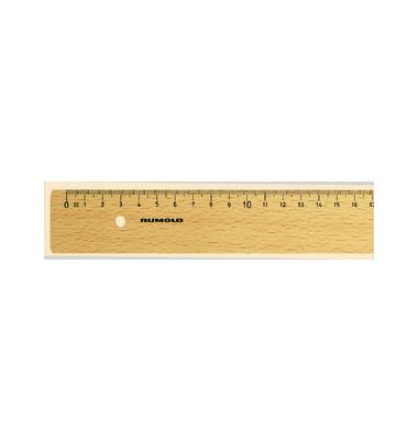 Lineal 40cm Buchenholz natur