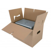 Umzugskarton Cargo-Box X braun Wellpappe 645x348x376mm