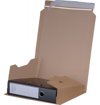 Versandkarton für Ordner 87-35x300x367mm braun 1 Stück