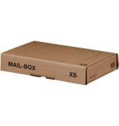 Versandkarton Mail-Box Basic XS 245x150x33 mm braun 20 Stück