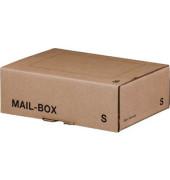 Versandkarton Mail-Box Basic S 250x175x80 mm braun 20 Stück