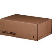 Versandkarton Mail-Box Basic L 396x250x140 mm braun 20 Stück