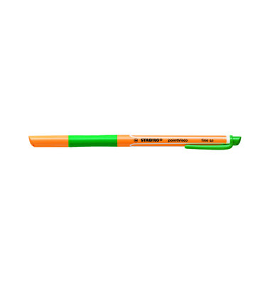 Tintenroller Point Visco orange/grün 0,5 mm