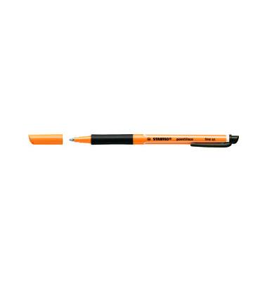 Tintenroller Point Visco orange/schwarz 0,5 mm