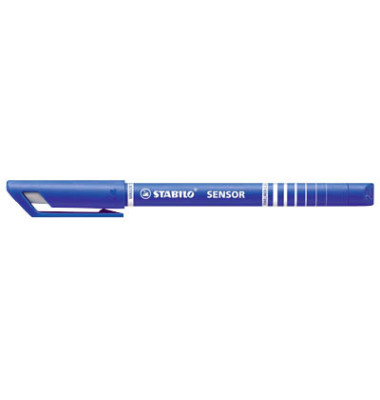 Fineliner Sensor blau F 0,3 mm