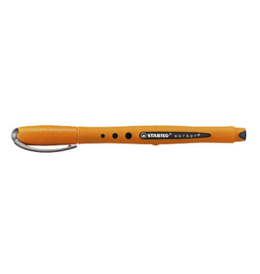 Tintenroller bionic worker orange/schwarz 0,5 mm