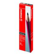 306 Bleistifte B Schwan rot
