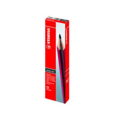 Bleistifte H Schwan rot