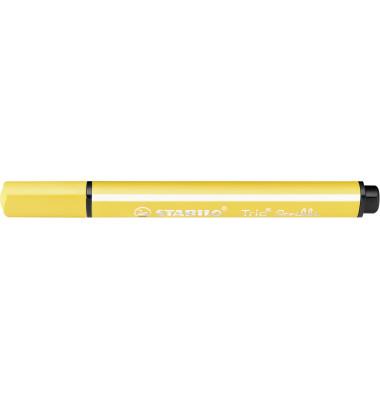 Faserschreiber Trio Scribbi gelb 1,5-2mm