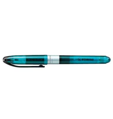 Textmarker Navigator blau 1-4mm Keilspitze