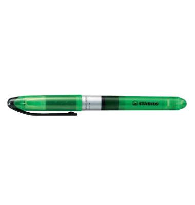 Textmarker Navigator grün 1-4mm Keilspitze