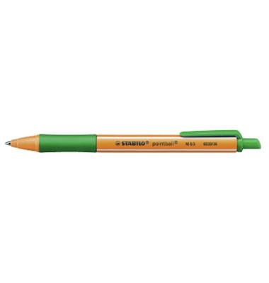 Tintenschreiber pointball grün M