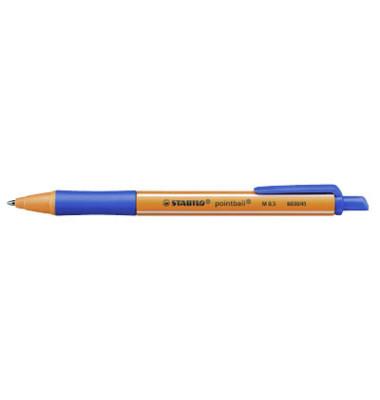 Tintenschreiber pointball blau M
