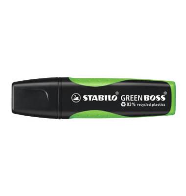 Textmarker Green Boss grün 2-5mm Keilspitze
