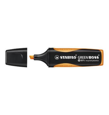 Textmarker Green Boss orange 2-5mm Keilspitze
