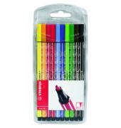 Faserschreiber-Etui Pen 68 Kunstst. sortiert 10 St