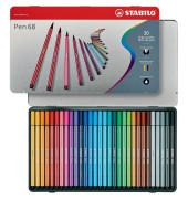 Faserschreiber-Etui Pen 68 Metall sortiert 30 St