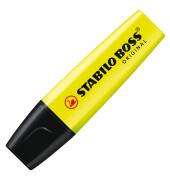 Textmarker Boss Original gelb 2-5mm Keilspitze