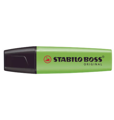 Textmarker Boss Original grün 2-5mm Keilspitze