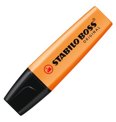 Textmarker Boss Original orange 2-5mm Keilspitze