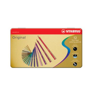 Buntstifte Original farbig sortiert 2,5mm 12er-Etui