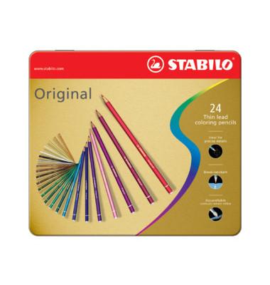 Buntstifte Original farbig sortiert 2,5mm 24er-Etui