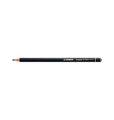 Buntstifte Original schwarz 2,5mm Dünnkern