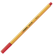 Fineliner Point 88 rot 0,4 mm