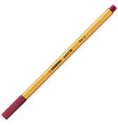 Fineliner Point 88 weinrot 0,4 mm