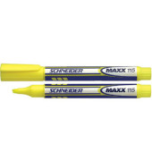 Textmarker MAXX 115 gelb 1-4mm Keilspitze
