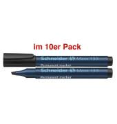 Permanentmarker Maxx 133 schwarz 1-4mm Keilspitze