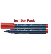 Permanentmarker Maxx 133 rot 1-4mm Keilspitze