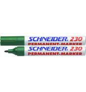 Permanentmarker Maxx 230 grün 1-3 mm Rundspitze