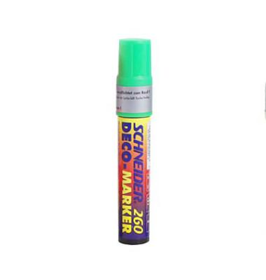 Decomarker MAXX 260 leuchtgrün 2-15mm Keilspitze