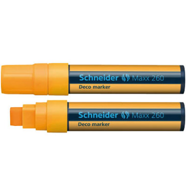 Decomarker MAXX 260 orange 2-15mm Keilspitze