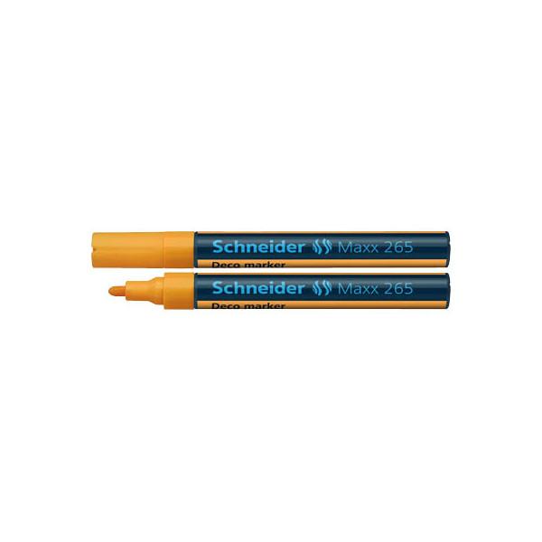 Schneider decomarker 265 orange06 2 3mm for Schneider versand privatkunden